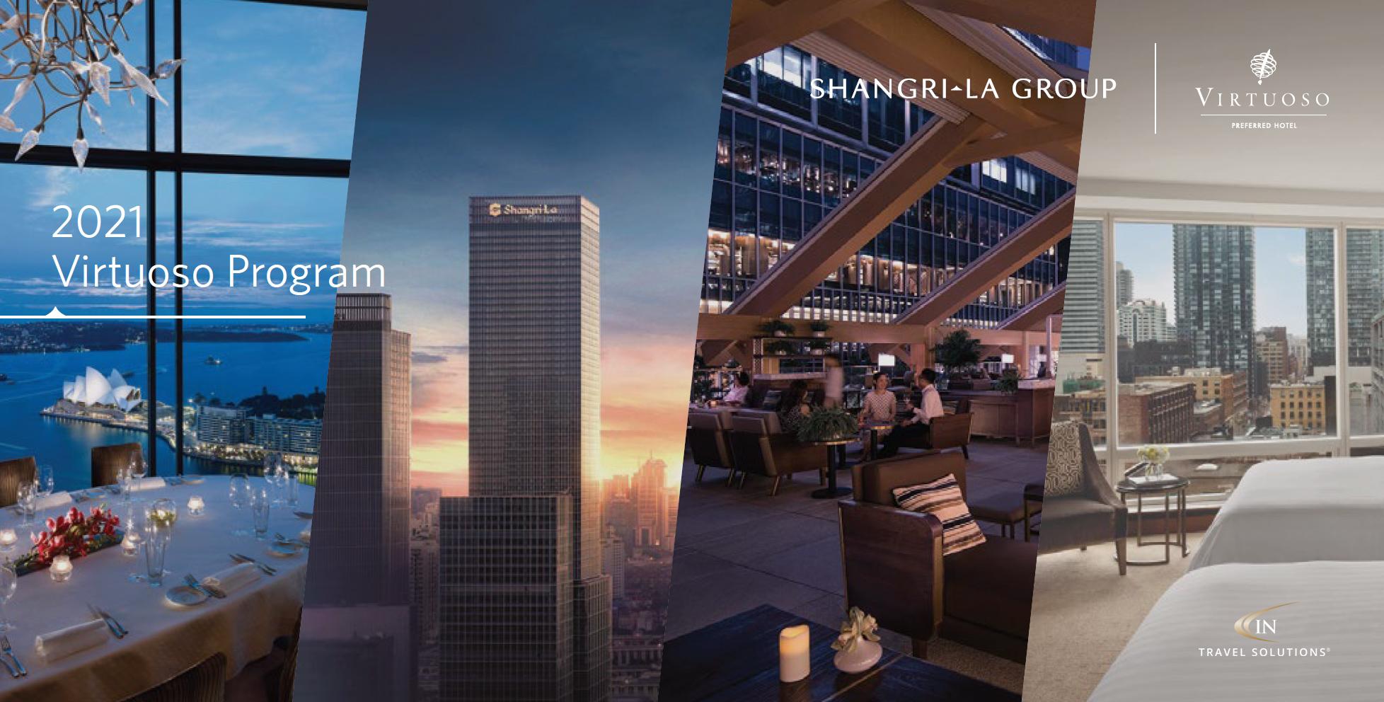 In Travel Solutions Frankfurt Shangri-La Virtuoso Program Sheet 2021