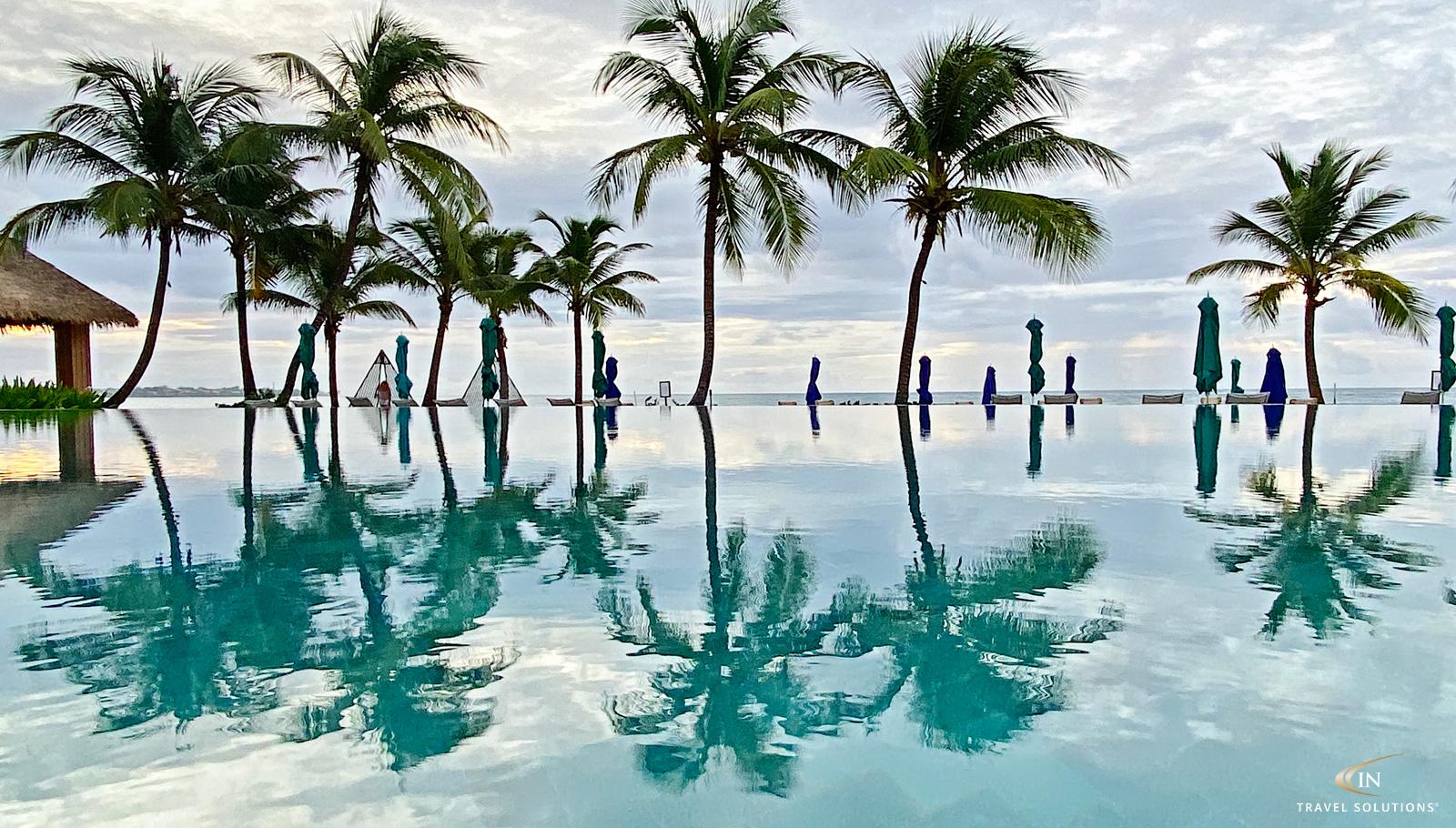 Infinity Pool at Sandals Royal Barbados