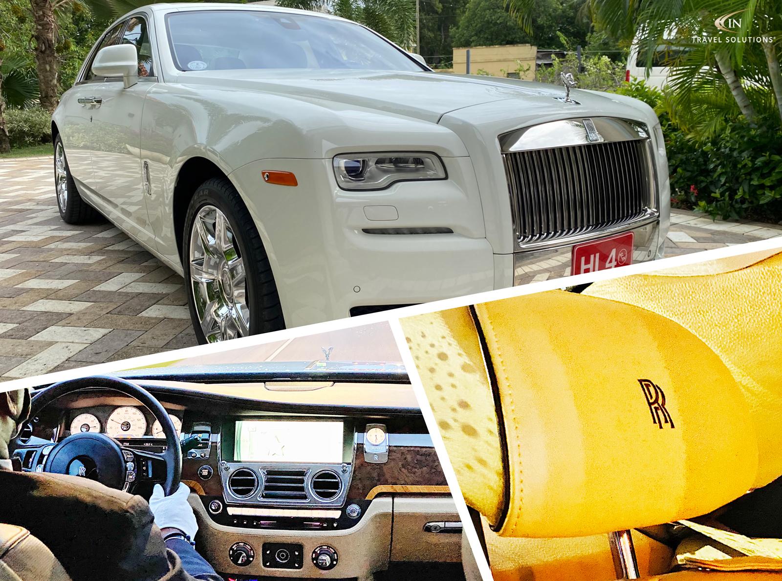 Sandals Royal Barbados - Rolls-Royce Transfer